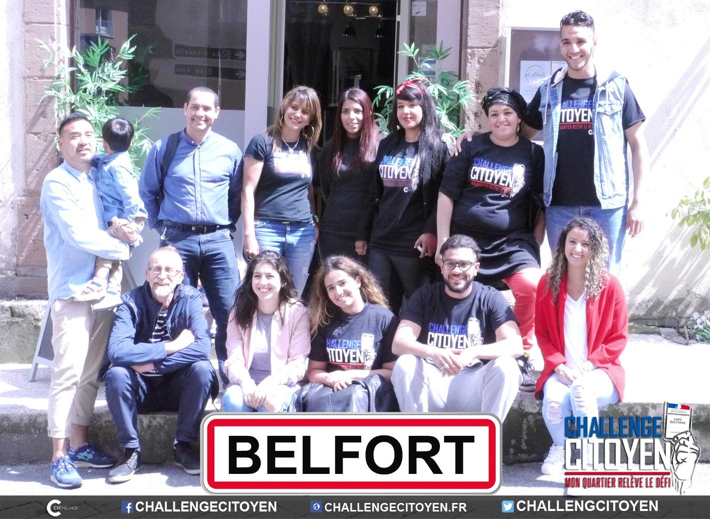 Rencontre avec l'association Jeunesse du monde à Belfort (90)